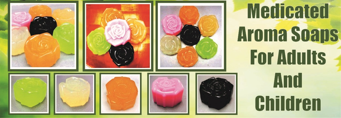 Medicated Aroma Soaps