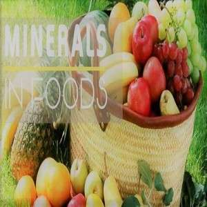 DOES MY NATURAL DIET CONSIST OF MINERALS?