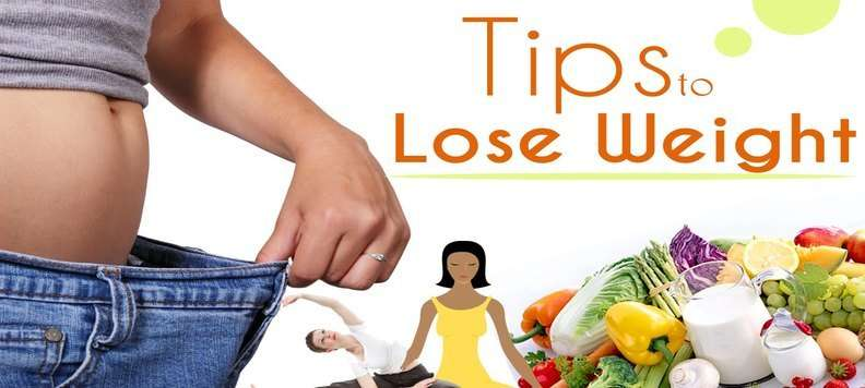 10 tips to lose weight easily