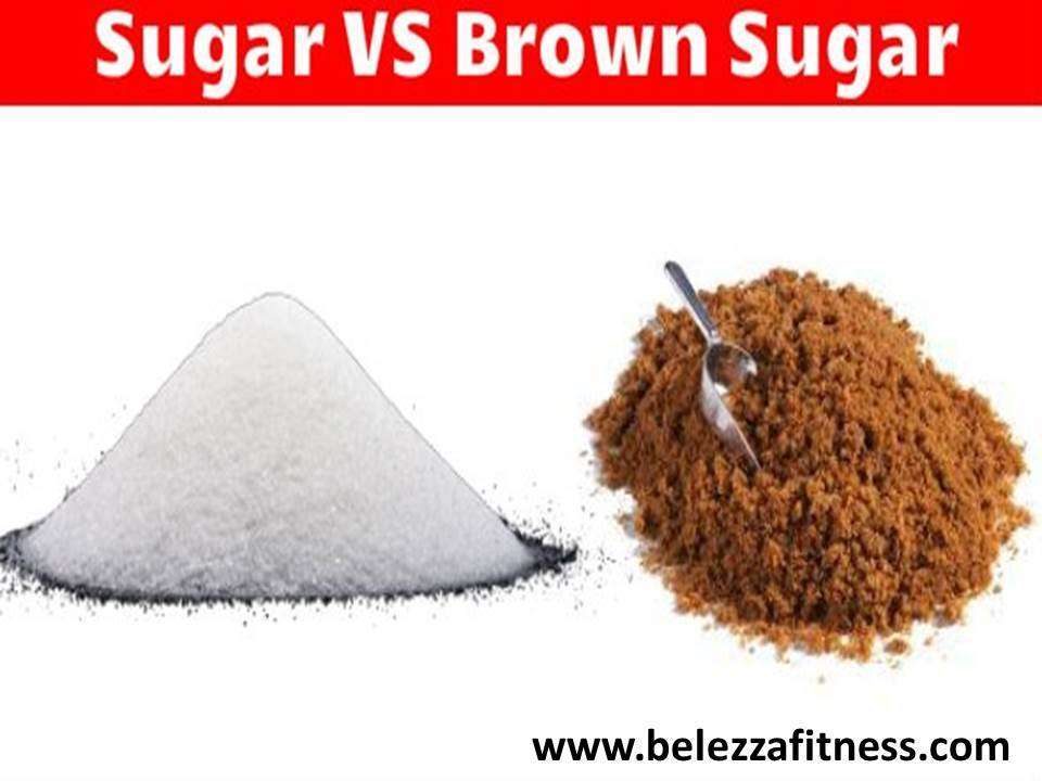 Brown sugar vs white sugar: What's better?