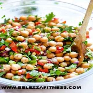 Chickpea with Bell Peppers
