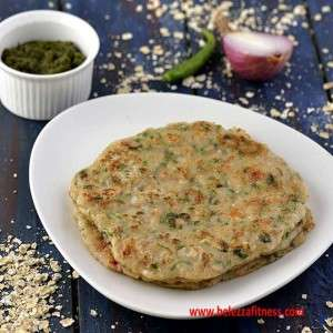 Indian oats pancake