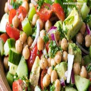 Chickpea Salad with veggies
