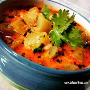 Bottle gourd and curd sabji