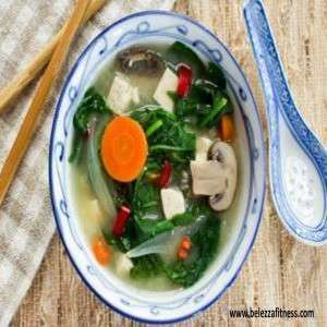 Weight loss thai soup