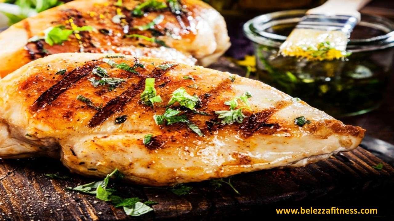 Grilled lime coriander chicken