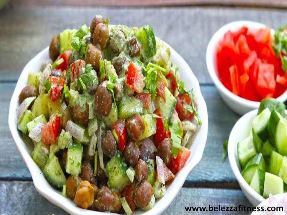 Healthy chana salad