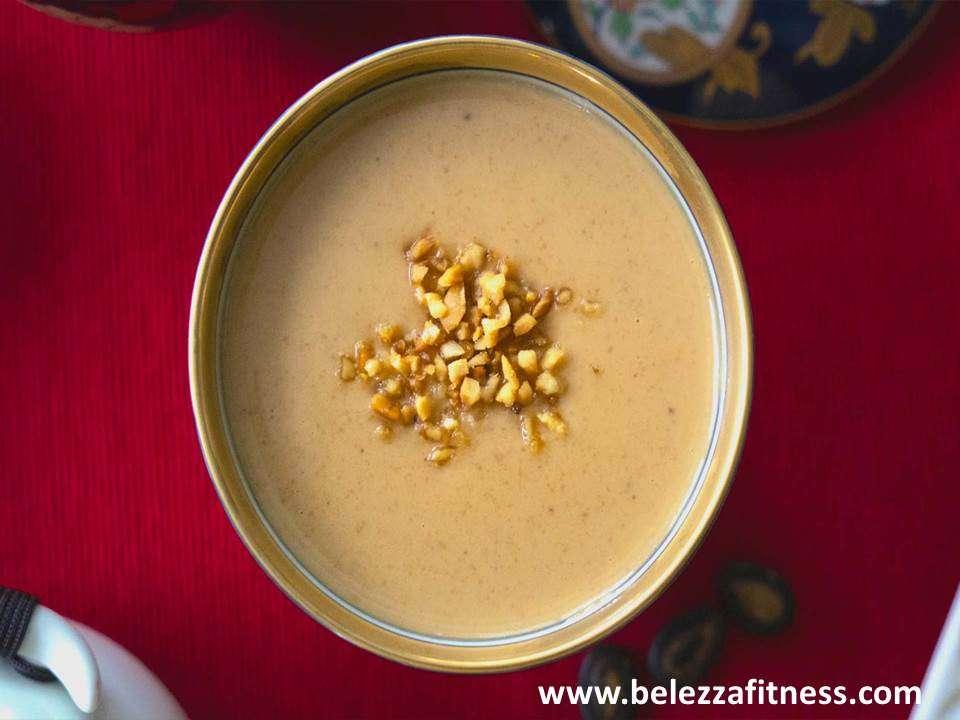 Keto peanut soup