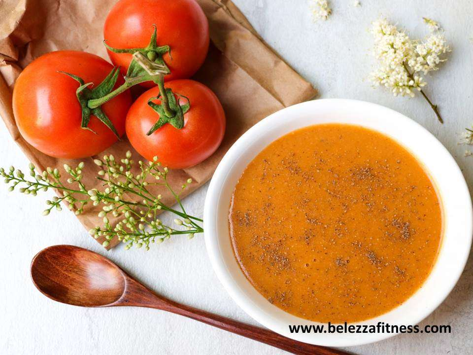 Oats and tomato soup