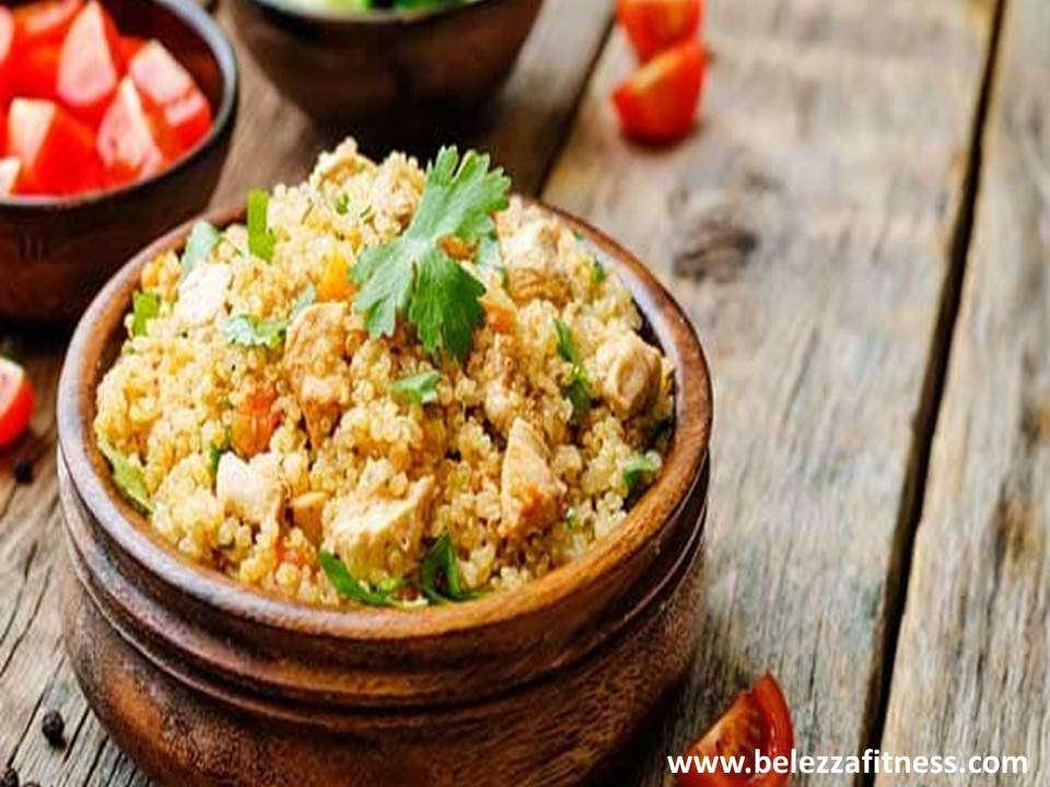 Quinoa chicken biryani