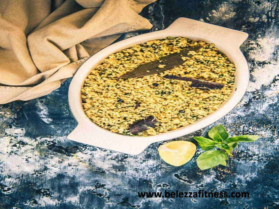 Spinach millet pulao