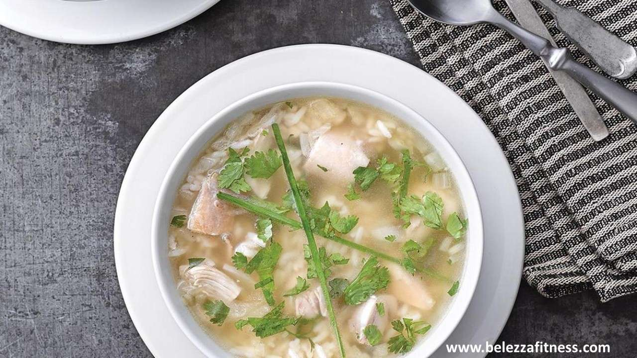 Chicken & ginger soup