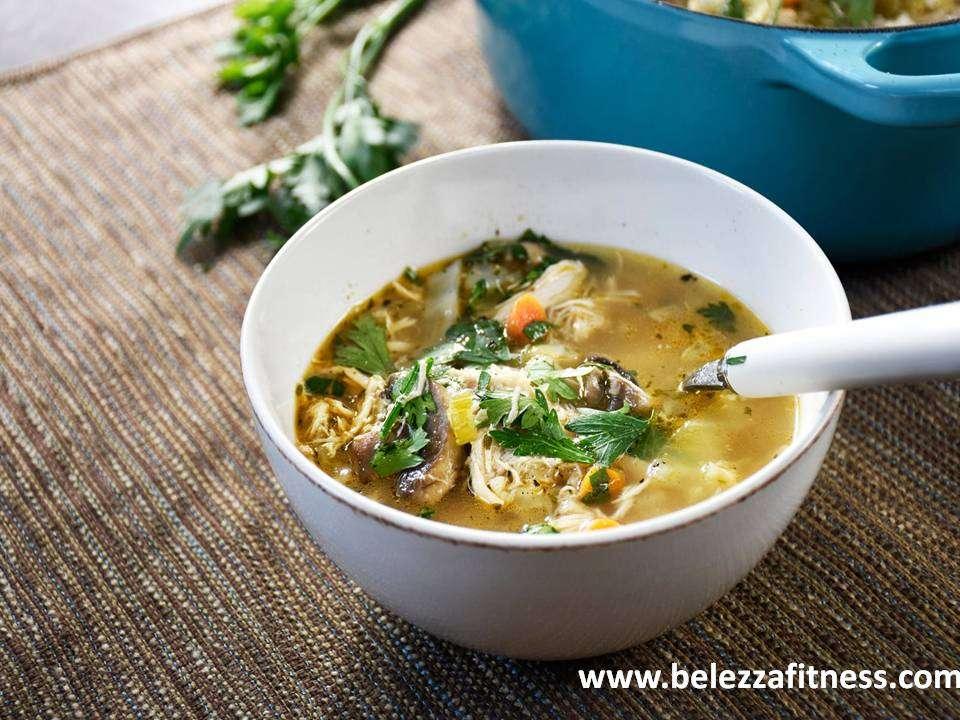 Keto chicken soup