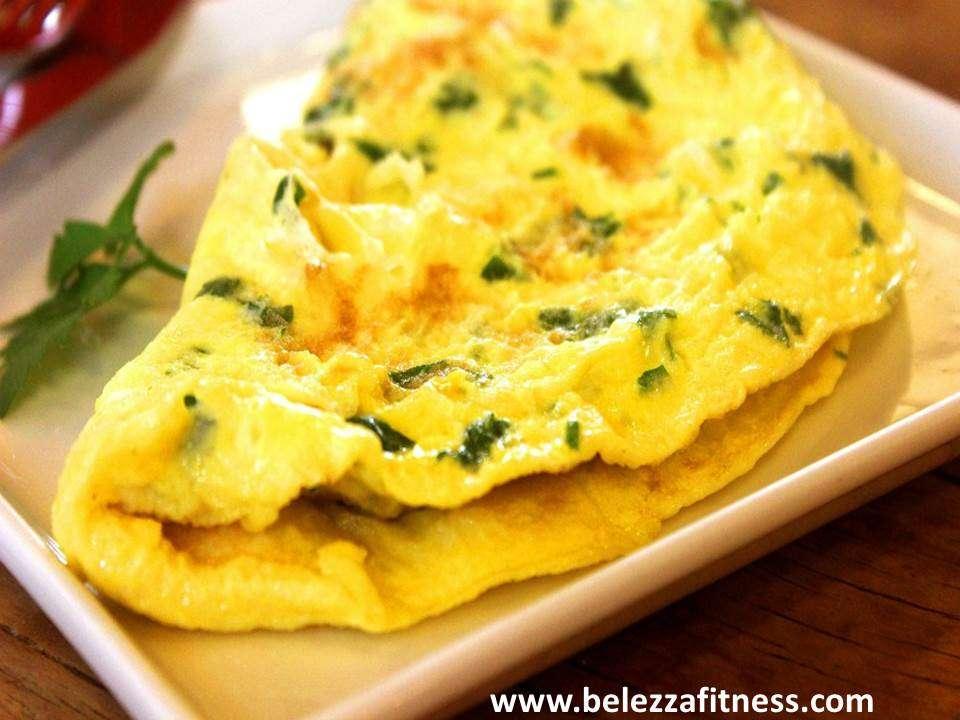 Keto masala egg omelete