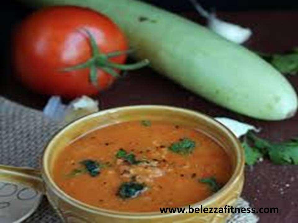 Tomato lauki soup