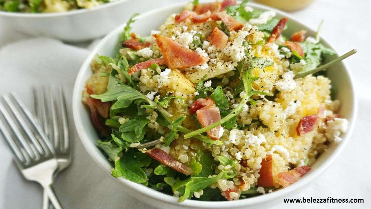 Lemon mint quinoa salad