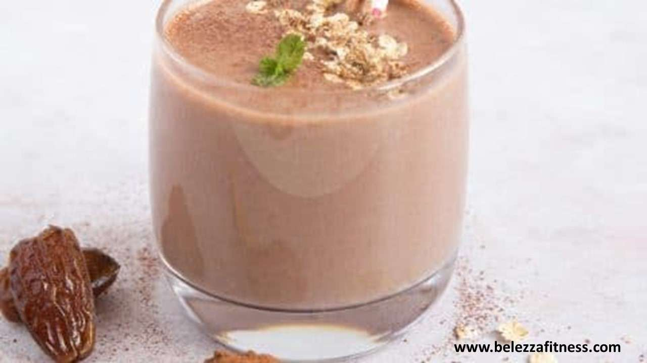 Oats and Dates smoothie