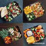 Breakfast, snacks, salads and dips